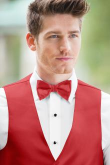 Expressions Ferrari Red Bow Tie
