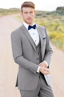 Ultra Slim Heather Grey Clayton Suit