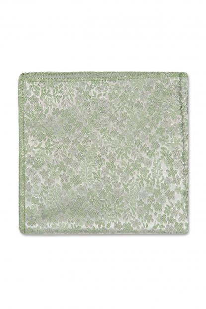 Sage Floral Pocket Square