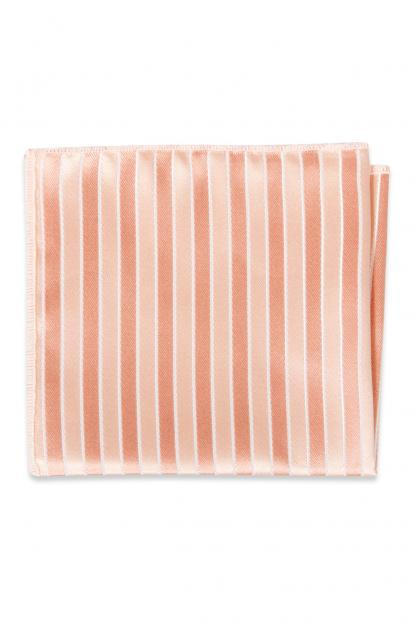 Bellini Striped Pocket Square