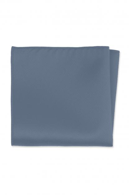 Expressions Slate Blue Pocket Square