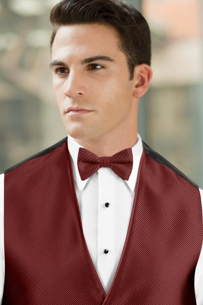 Synergy Apple Red Bow Tie