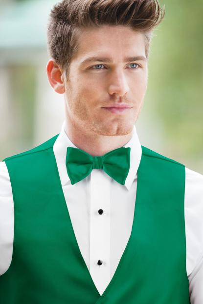 Expressions Emerald Bow Tie
