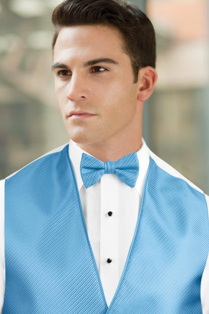 Synergy Ocean Blue Bow Tie