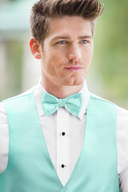 Expressions Tiffany Blue Bow Tie