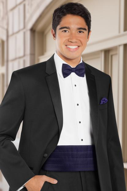 Dot Grape Cummerbund