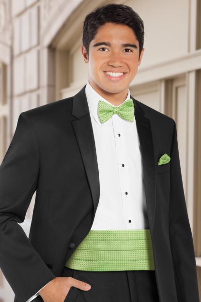 Dot Lime Cummerbund