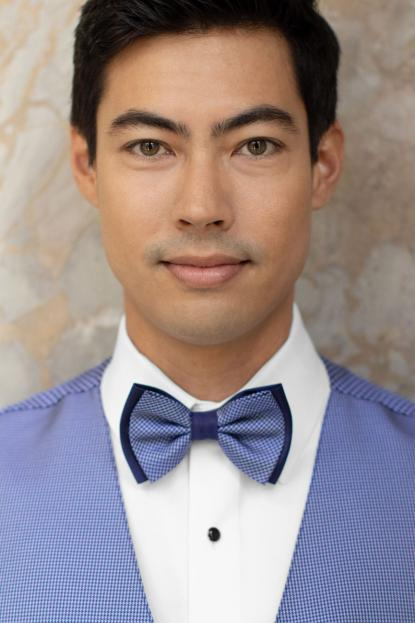 Foundation Blue Bow Tie