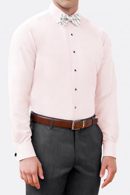 Light Pink Microfiber Shirt
