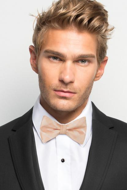 Bellini Plaid Bow Tie