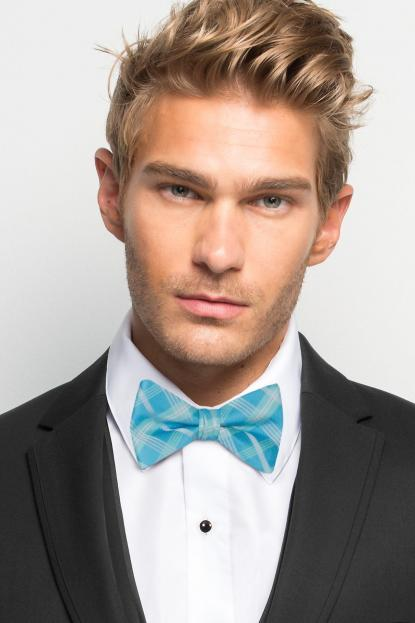 Malibu Plaid Bow Tie