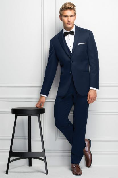 Ultra Slim Navy Sterling Wedding Suit