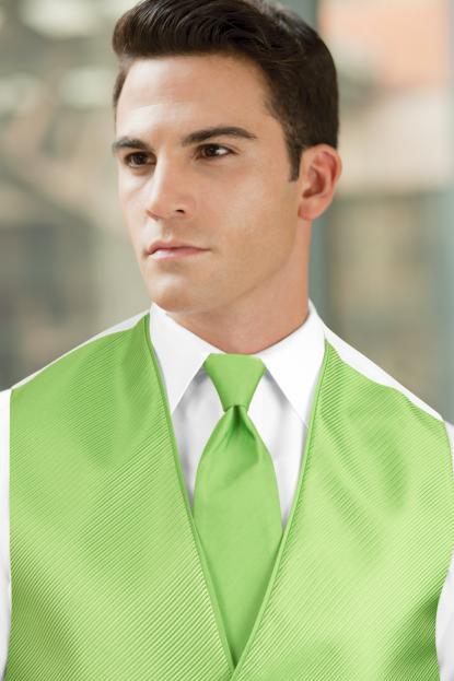 Solid Lime Green Windsor
