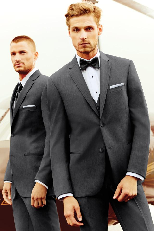 Michael Kors Steel Grey Sterling Wedding Suit Slim Fit Suit